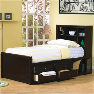 Coaster Phoenix Twin Bookcase Bed