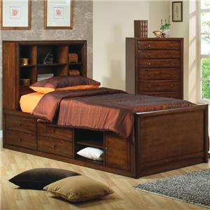 Coaster Hillary and Scottsdale Full Bookcase Bed