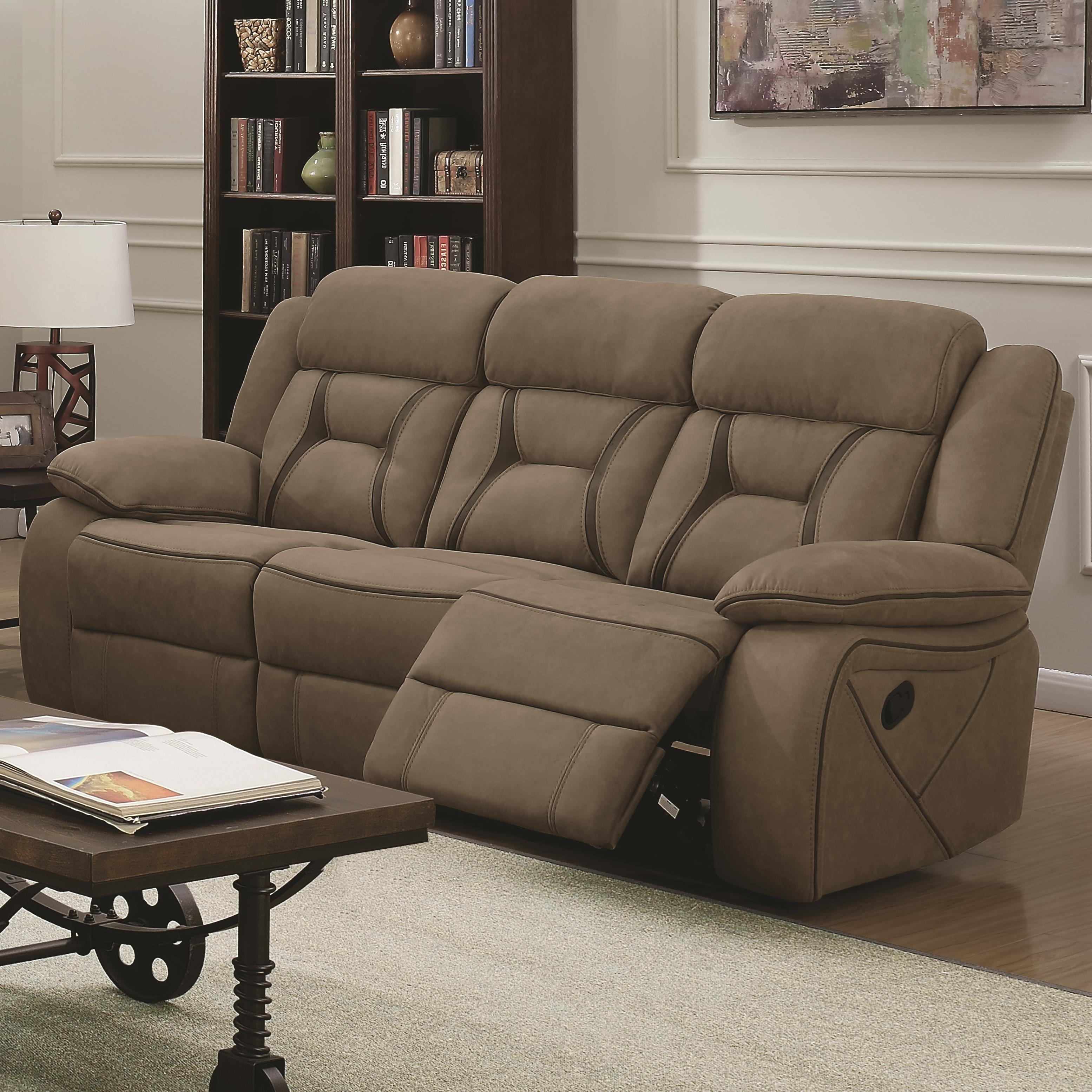 Houston Motion Sofa by Coaster at A1 Furniture & Mattress