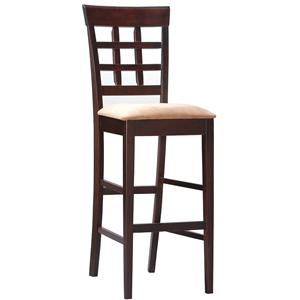 "Coaster Mix & Match 30"" Wheat Back Bar Stool"