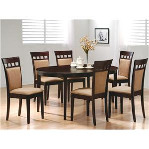 Coaster Mix & Match 7 Piece Dining Set