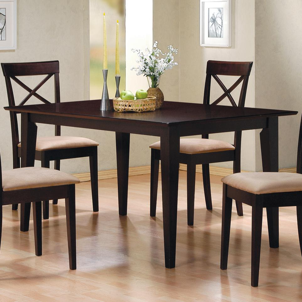 Mix & Match Dining Table by Coaster at Northeast Factory Direct