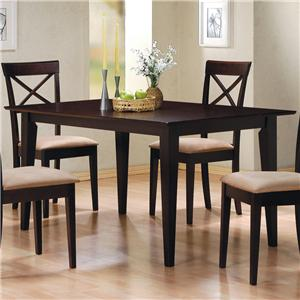 Rectangle Leg Dining Table