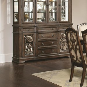 Traditional Buffet with Concealed Storage