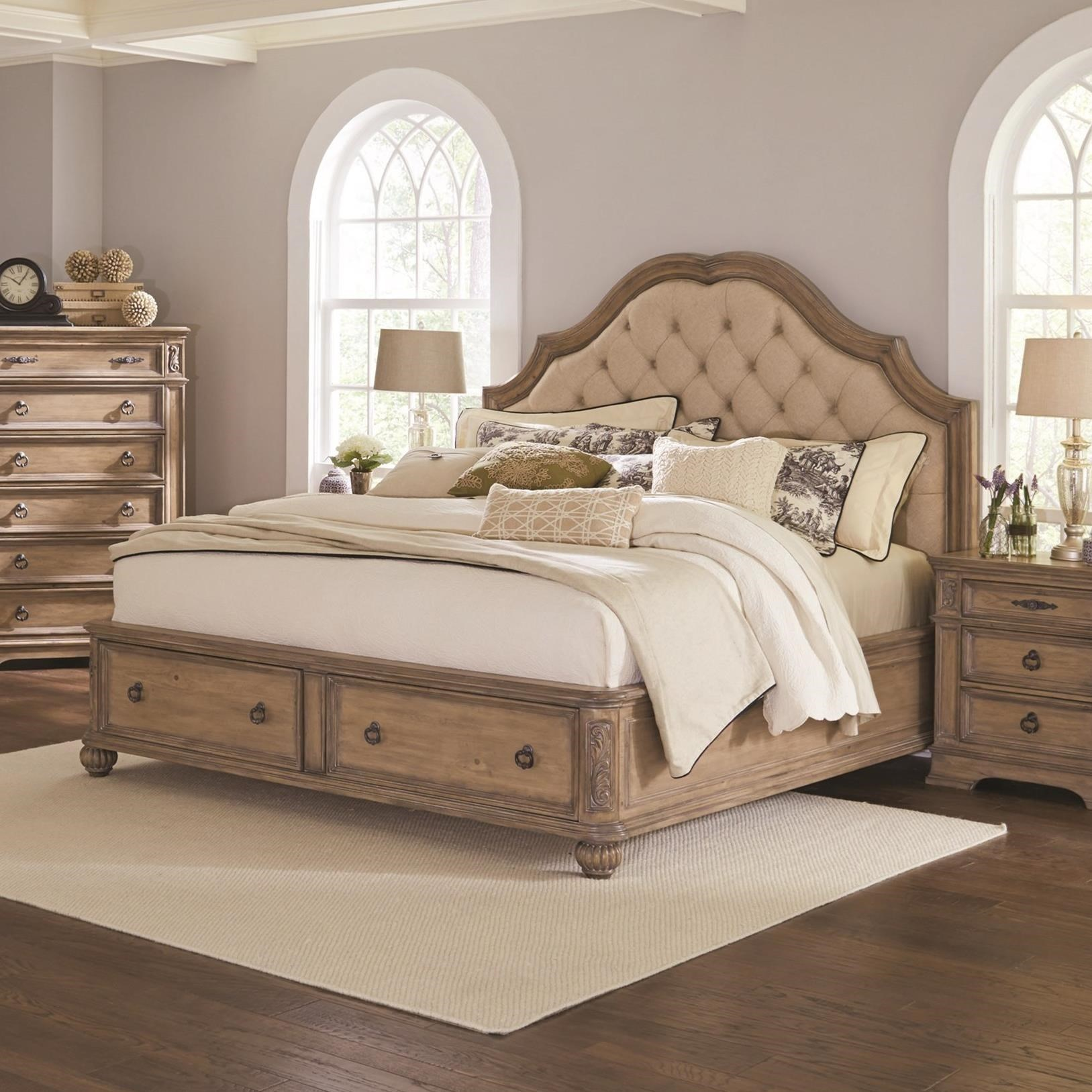 Ilana California King Storage Bed by Coaster at Northeast Factory Direct