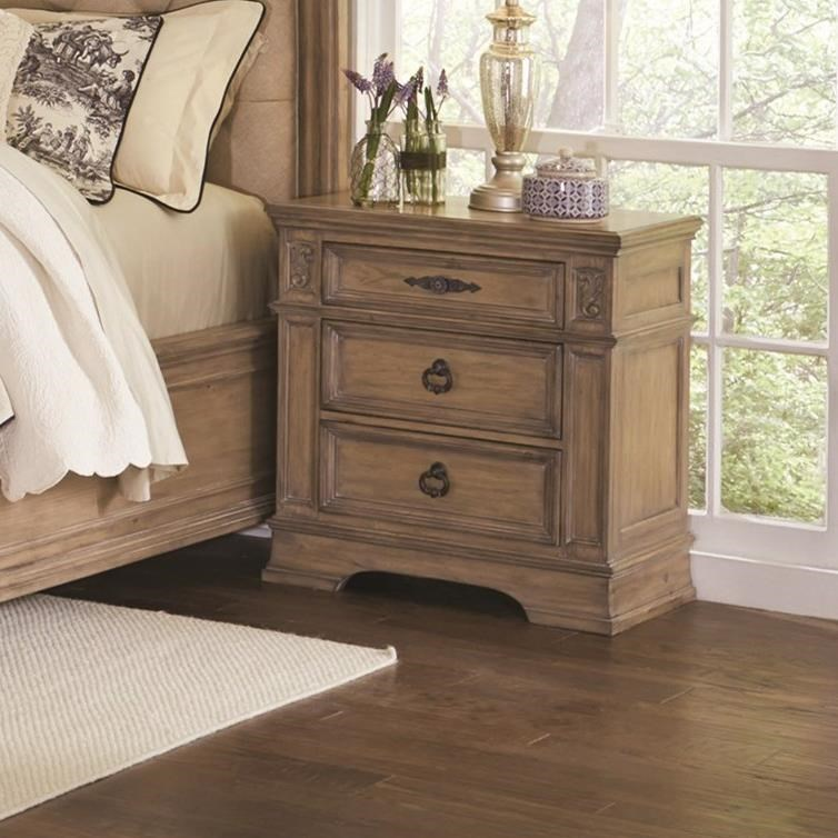 Ilana 3 Drawer Nightstand by Coaster at Northeast Factory Direct