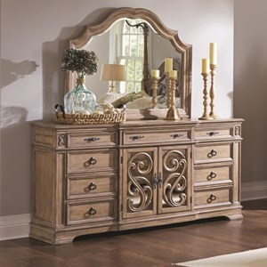 9 Drawer Dresser with Full Extension Glides