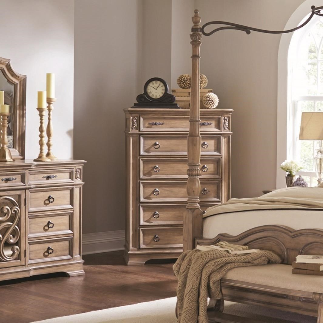 Ilana 6 Drawer Chest by Coaster at Northeast Factory Direct