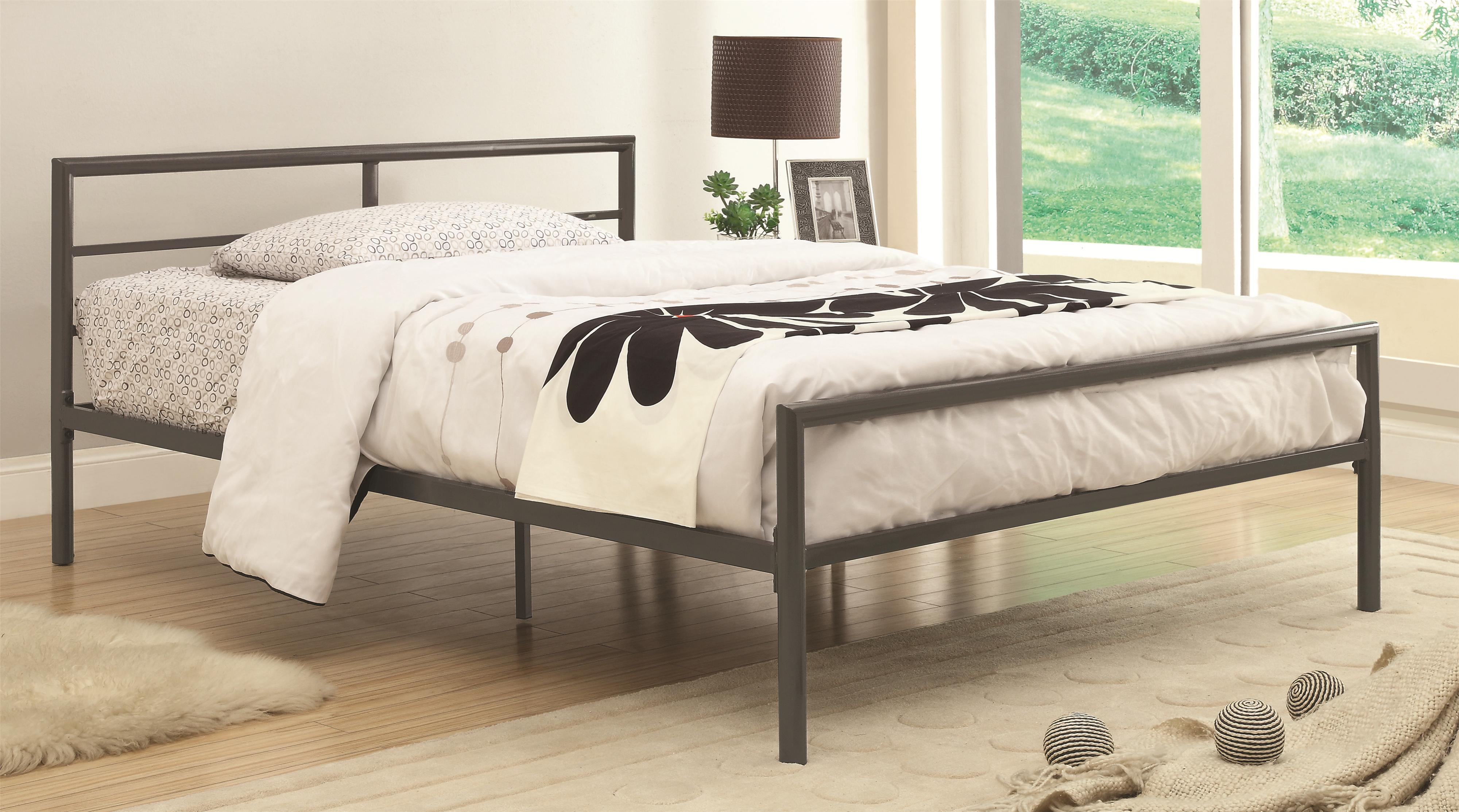 Iron Beds and Headboards Twin Fisher Bed by Coaster at Northeast Factory Direct