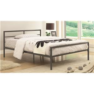 Fisher Full Bed with Sleek Lines