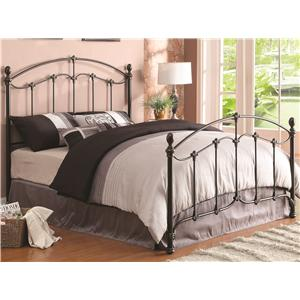 Coaster Iron Beds and Headboards Yasmine Full Iron Bed