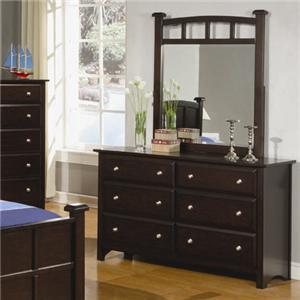 Coaster Jasper Dresser and Mirror