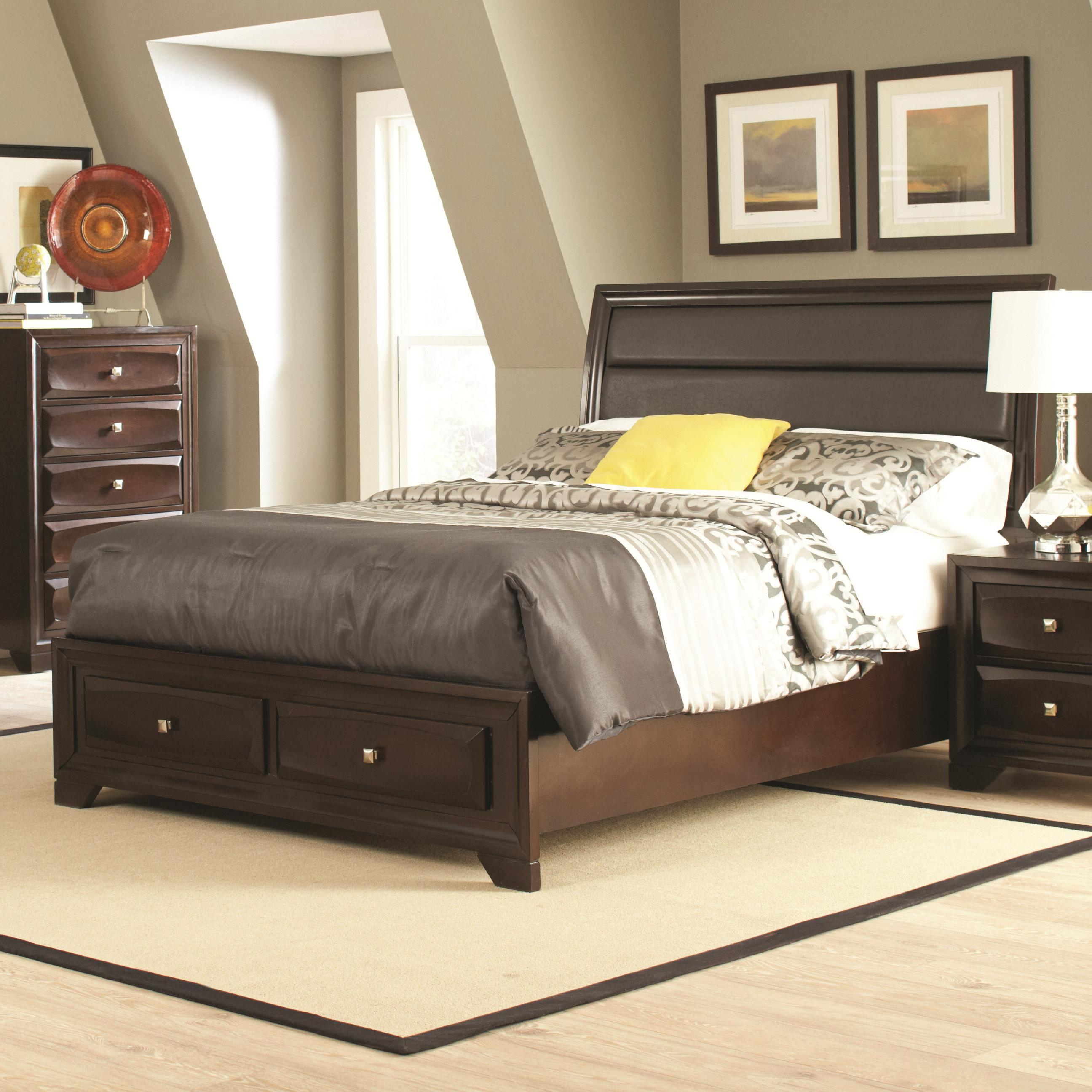 Jaxson Cal King Bed by Coaster at Beck's Furniture