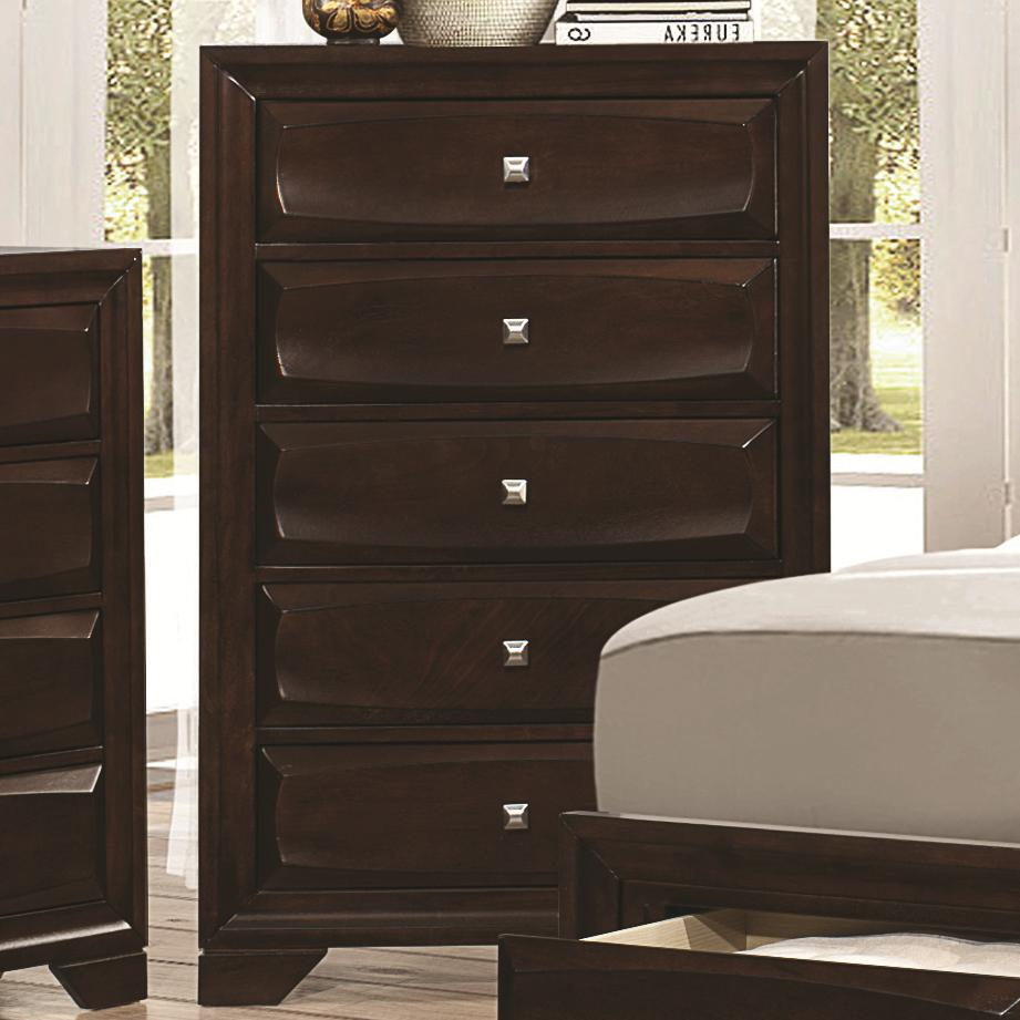 Jaxson Chest of Drawers by Coaster at Beck's Furniture
