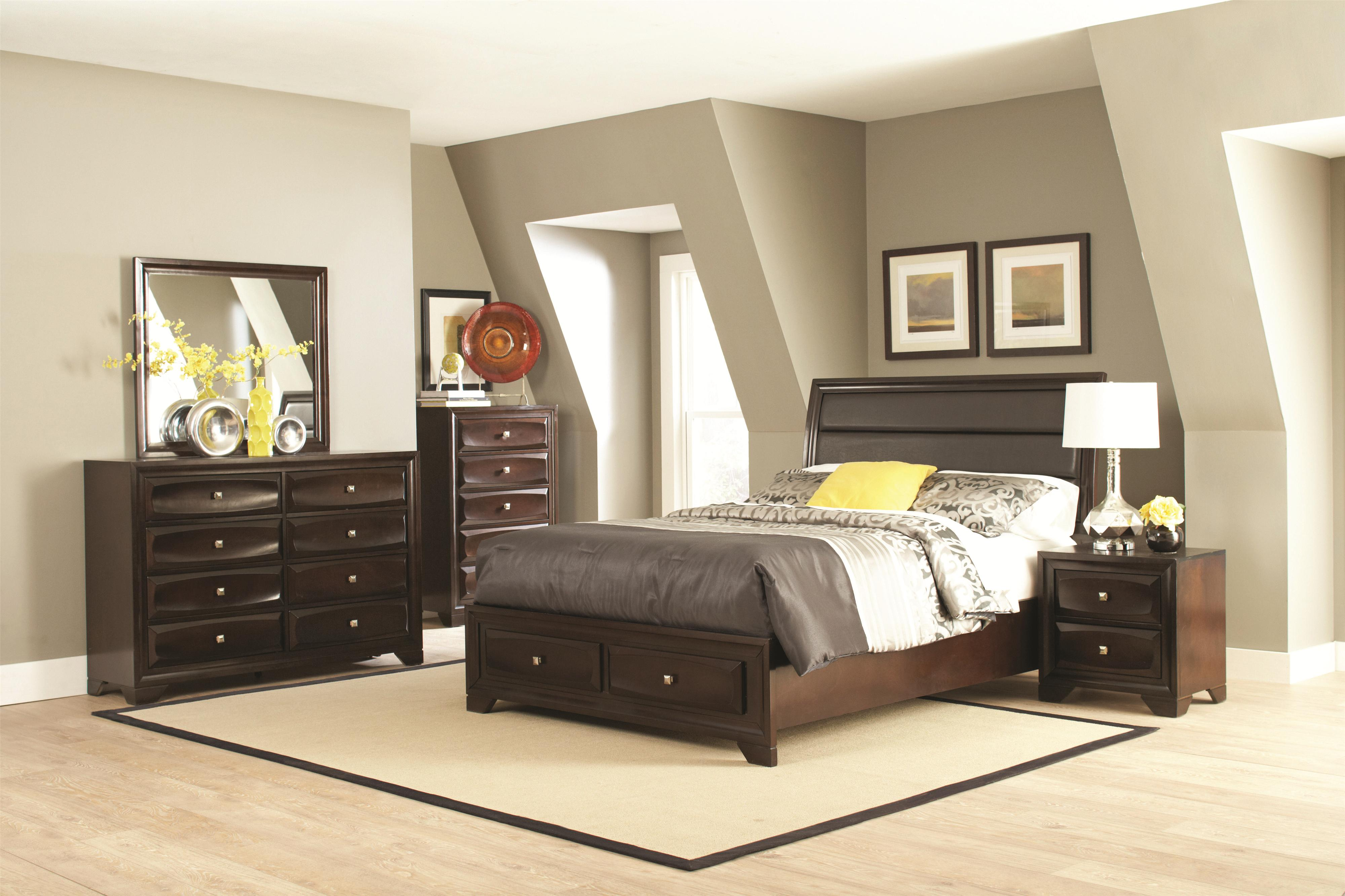 Jaxson Cal King Bedroom Group by Coaster at Northeast Factory Direct