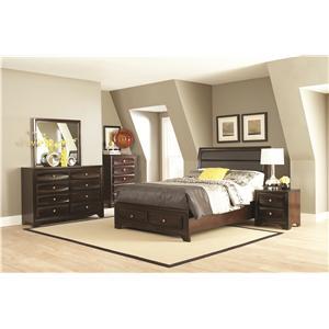 Coaster Jaxson Cal King Bedroom Group