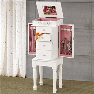Coaster Jewelry Armoires Jewelry Armoire