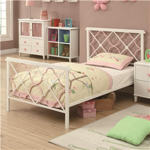 Coaster Juliette Twin Bed