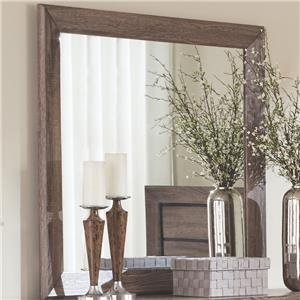 Mirror with Rustic Frame
