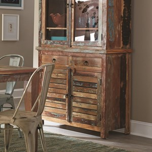 Rustic Buffet with Concealed Storage