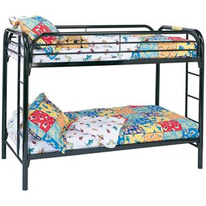 Coaster Metal Beds Twin Bunk Bed