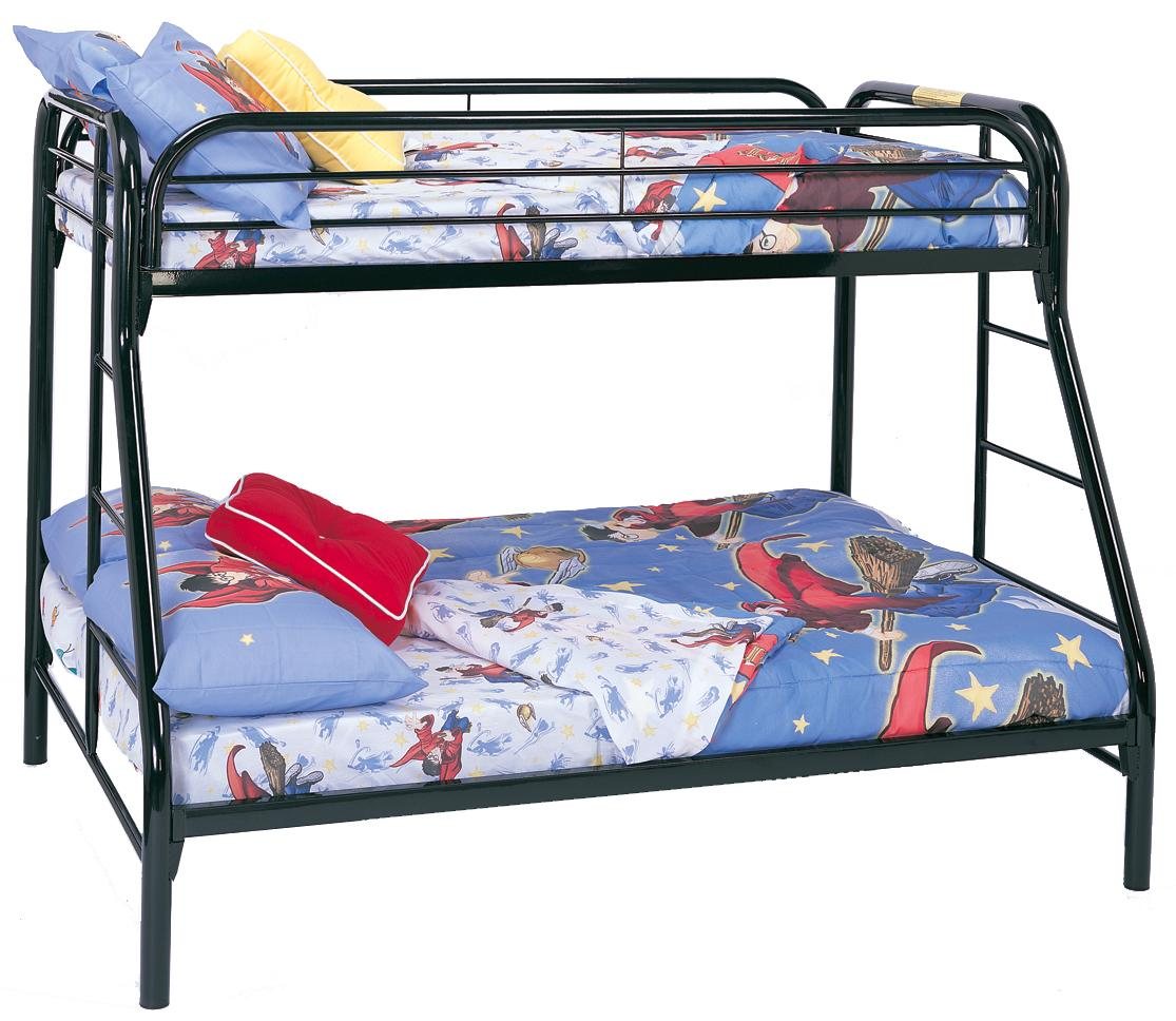 Metal Beds Twin Over Full Bunk Bed by Coaster at Northeast Factory Direct