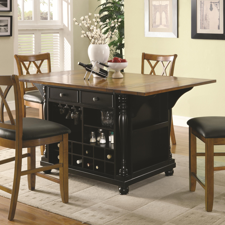 Kitchen Carts Kitchen Island by Coaster at Lapeer Furniture & Mattress Center