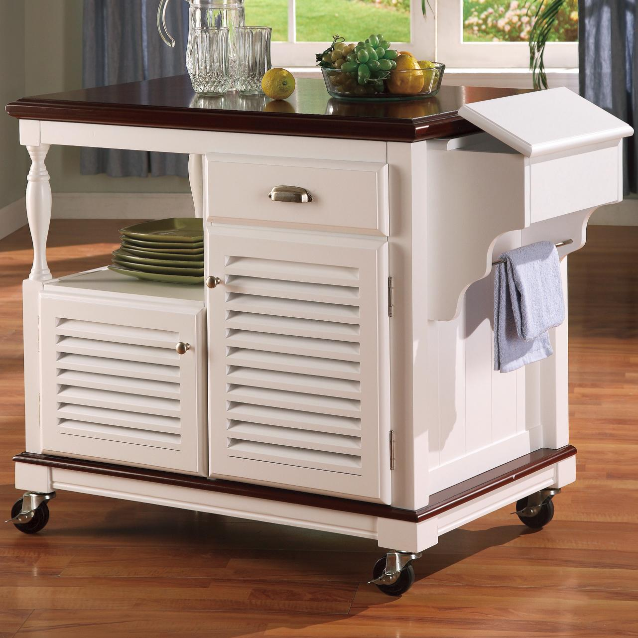 Kitchen Carts Kitchen Cart by Coaster at Northeast Factory Direct