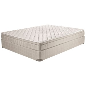 "Twin 8 1/2""  Euro Top Mattress Set, LP"