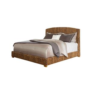 Woven Banana Leaf King Bed