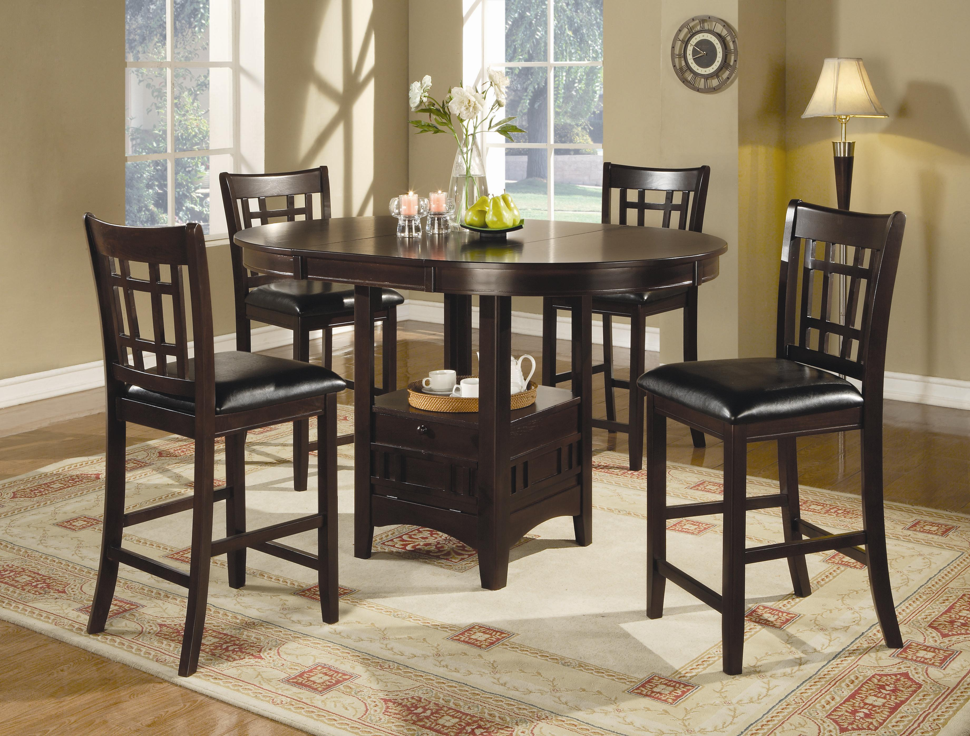 Lavon 5 Piece Counter Table and Chair Set by Coaster at Northeast Factory Direct