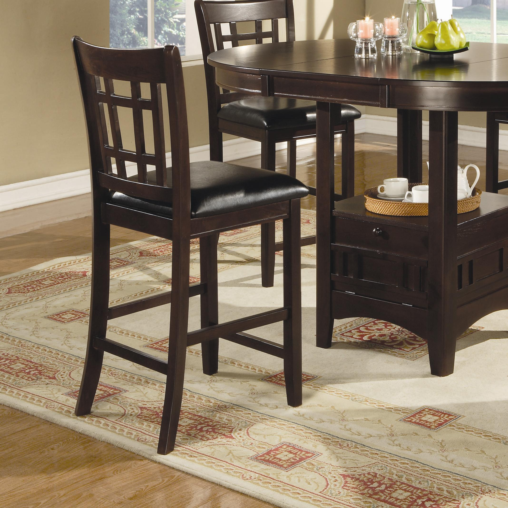 Lavon 24 Inch Bar Stool by Coaster at Standard Furniture