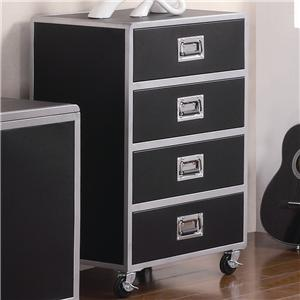 4 Drawer Chest with Casters