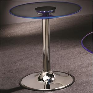 Coaster LED End Table