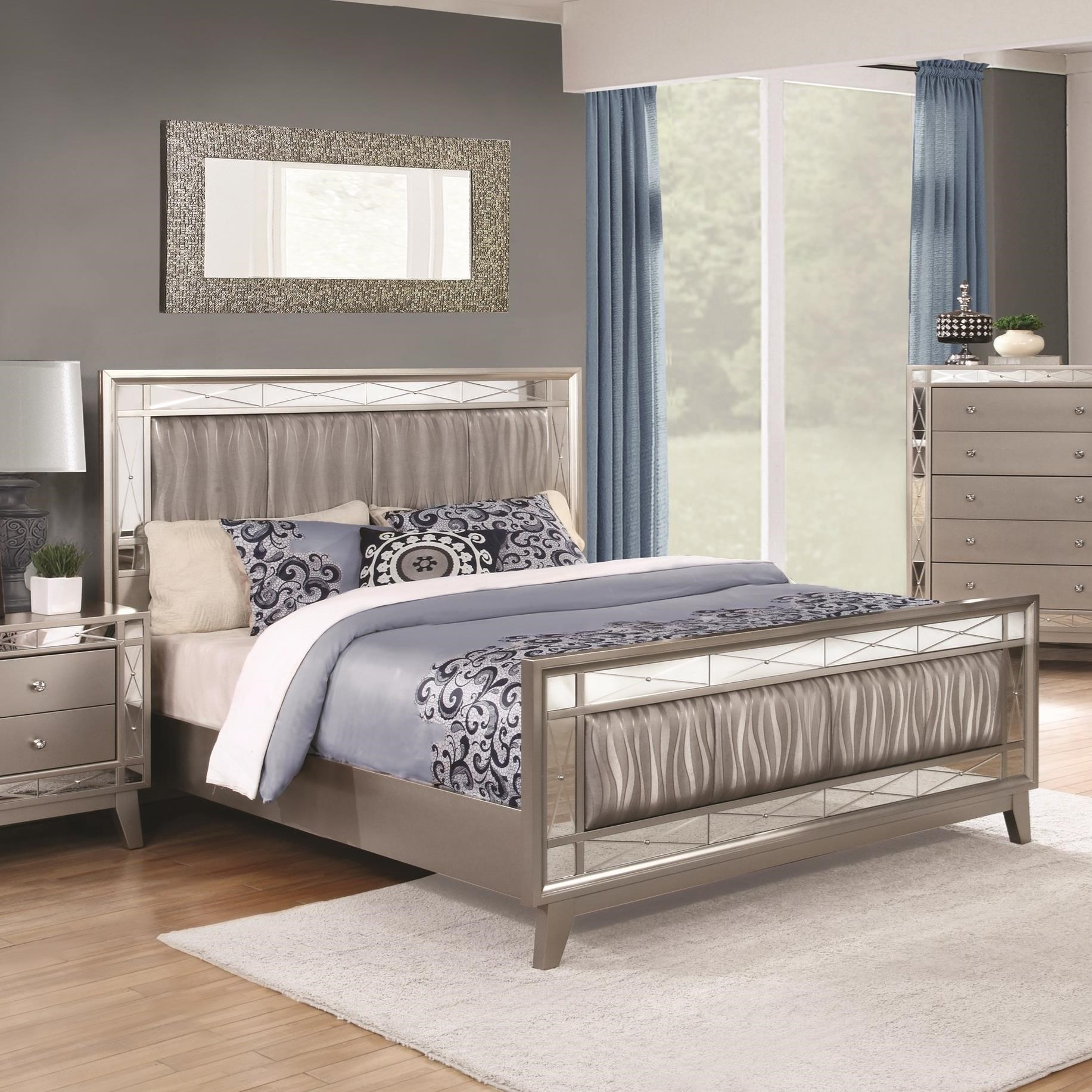 Leighton Queen Bed by Coaster at Northeast Factory Direct