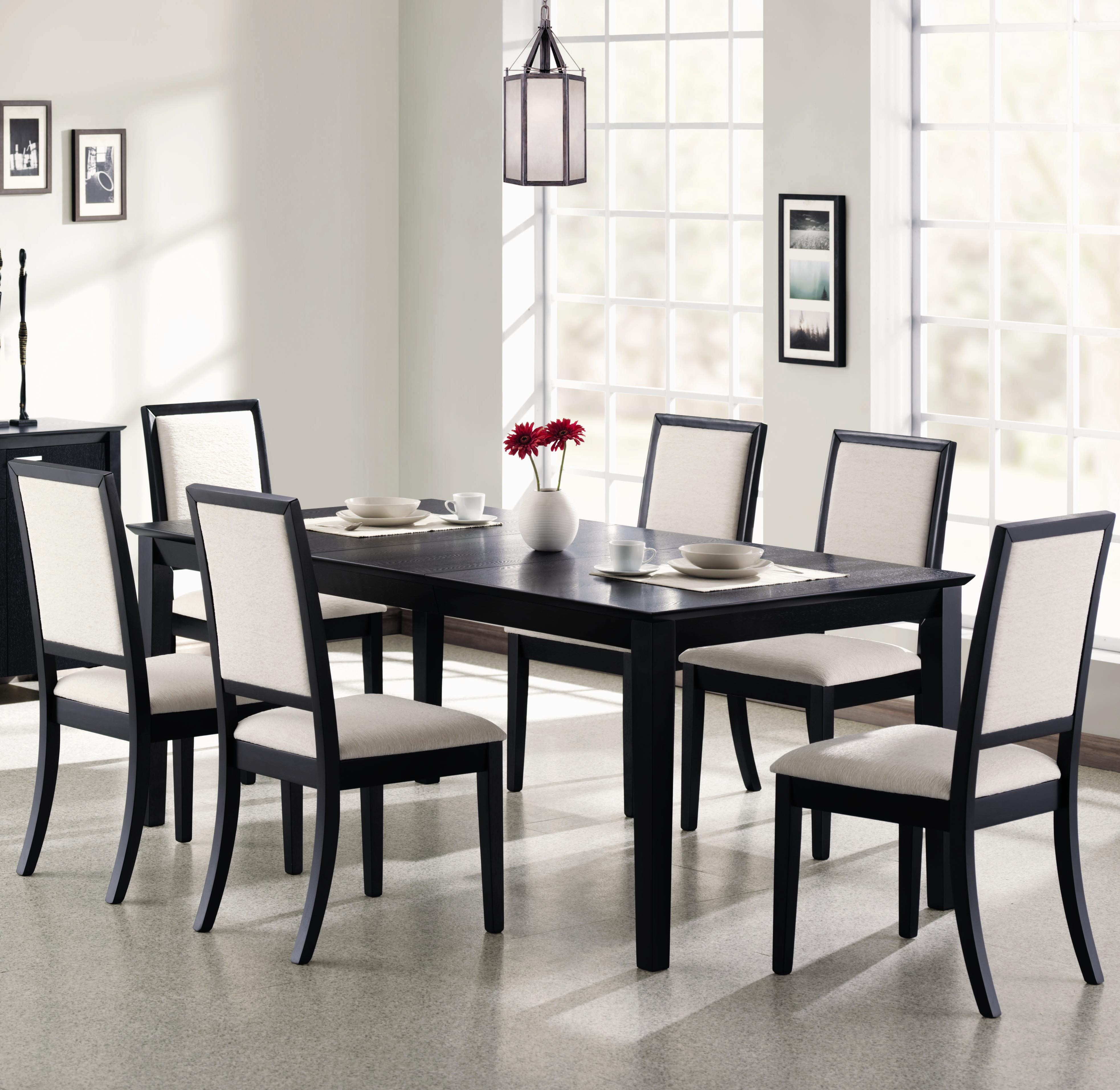 Lexton 7 Piece Dining Set by Coaster at Northeast Factory Direct