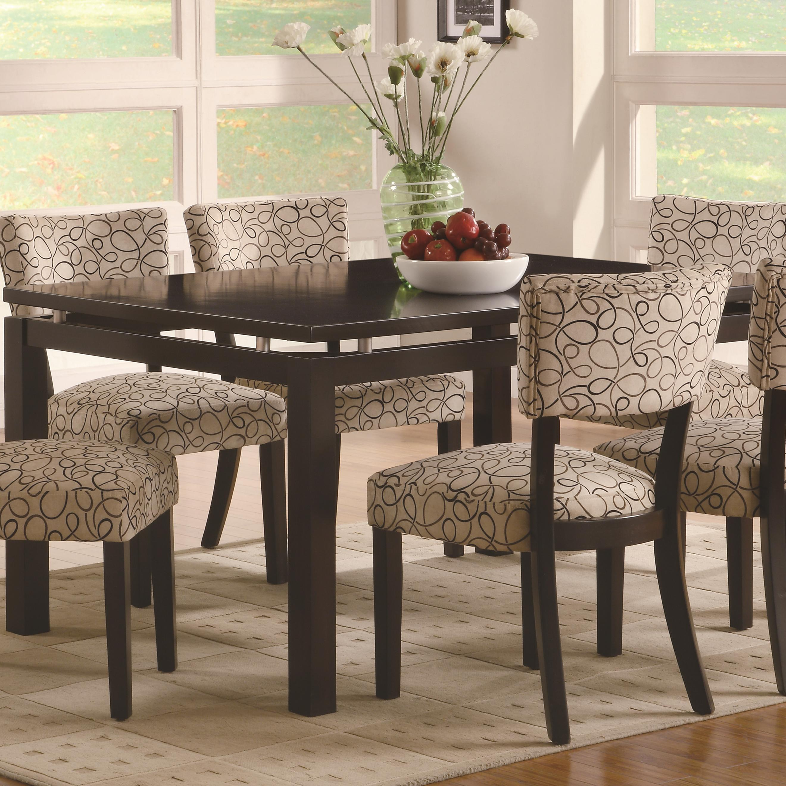Libby Dining Table by Coaster at Lapeer Furniture & Mattress Center