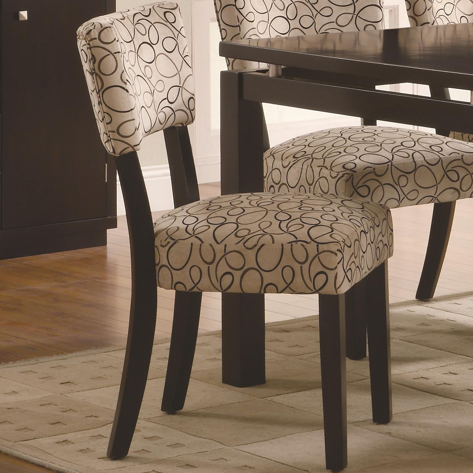 Libby Side Chair by Coaster at Lapeer Furniture & Mattress Center
