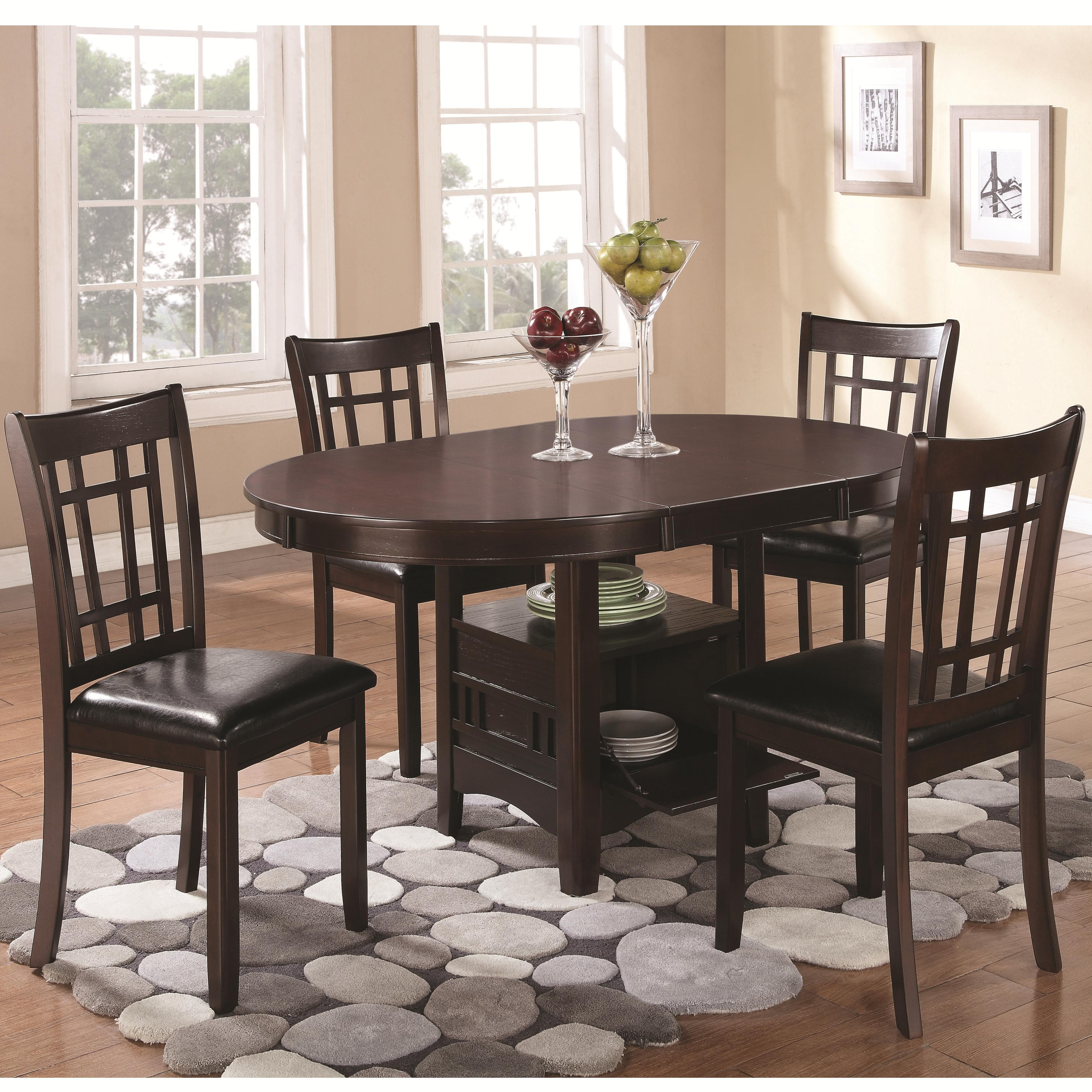 Lavon 5 Piece Dining Set by Coaster at Value City Furniture