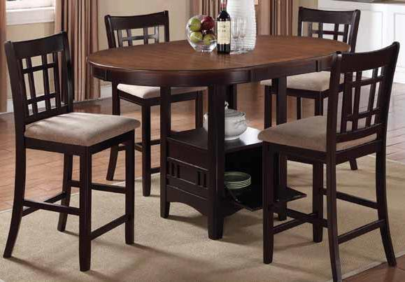 Lavon 5 Piece Counter Height Table Set by Coaster at Northeast Factory Direct