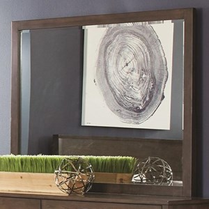 Dresser Mirror in Ash Brown Finish
