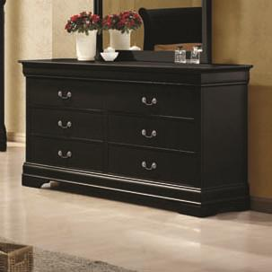Louis Philippe Drawer Dresser by Coaster at Beds N Stuff