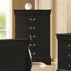 Louis Philippe Drawer Chest by Coaster at Lapeer Furniture & Mattress Center