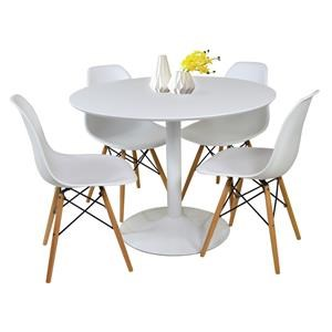 5 Piece Dining Group with Round Table