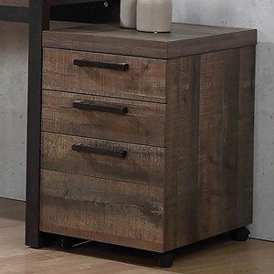 Contemporary Mobile Storage Cabinet