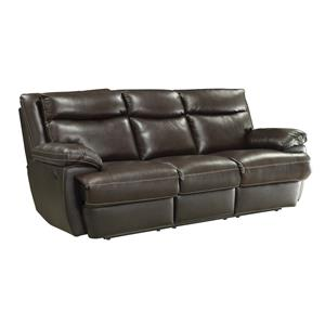 Casual Reclining Sofa with USB Charging Ports