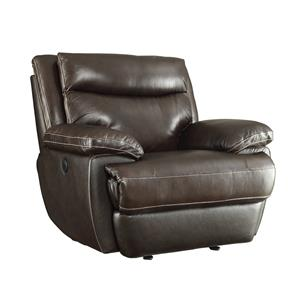 Casual Power Recliner with Built-In USB Charging Port