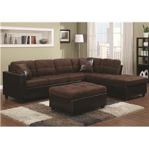 Coaster Mallory  Sectional