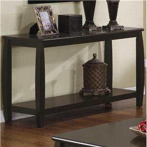 Sofa Table with 1 Bottom Shelf
