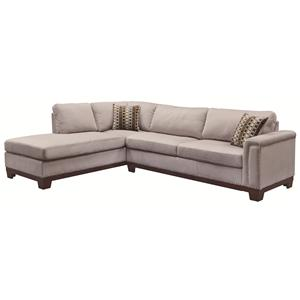 Track Arm Reversible Sofa Chaise Sectional